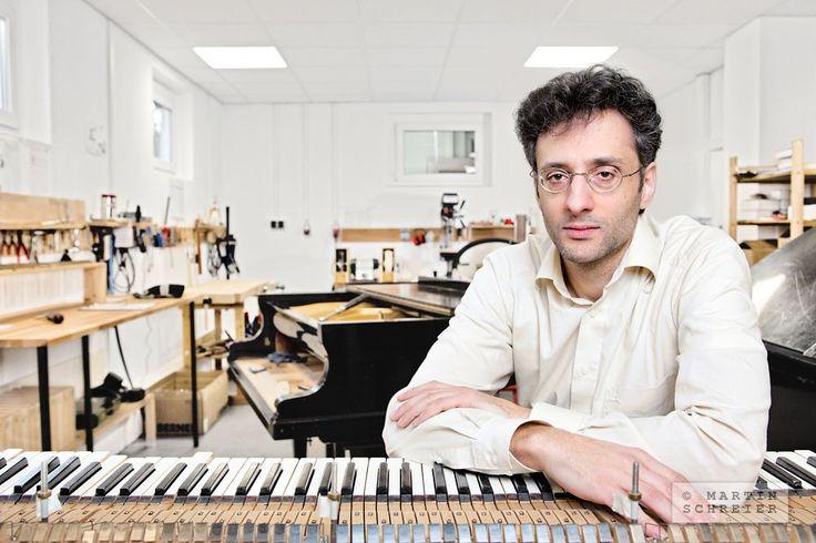 Christoph Kerschgens, Klavierbauer, Lobenfeld 2016. Foto: Martin Schreier | schreier.co