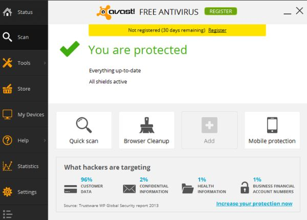 Top 7 Best Free Antivirus Software for 2017 for Windows10 #best #antivirus #for #windows #server http://jamaica.remmont.com/top-7-best-free-antivirus-software-for-2017-for-windows10-best-antivirus-for-windows-server/  # Top 7 Best Free Antivirus Software to Download for 2017 compatible with Windows 10 Checkout the below list of Free Antivirus of 2017. Also check Best paid Antivirus of 2017. Choosing a particular software to be the best is not possible, But we give them priory according to…