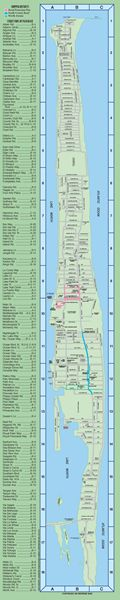 Palm Beach Chamber of Commerce - Palm Beach Map - North End