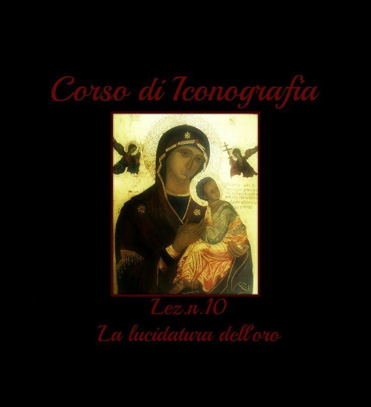 Corso di Iconografia,Lez n.10 (La lucidatura dell'oro) -Arte per Te
