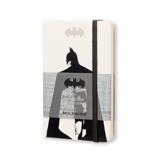 Moleskine Batman Limited Edition Notebook - Small, White