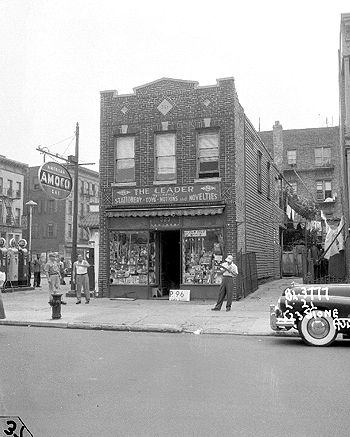 Stone Avenue, for the possible siting of Van Dyke Houses in Brownsville, Brooklyn, circa 1951.