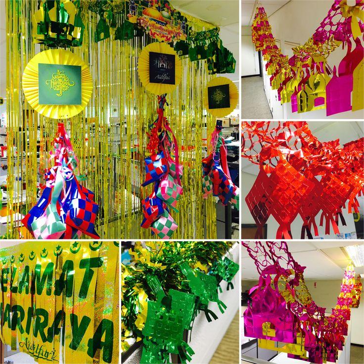 Eid/ Hari Raya Aidilfitri decorations