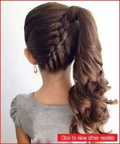Cute hairstyles for your little ones - #hairstyles #little - #HairstyleCuteRoundFaces