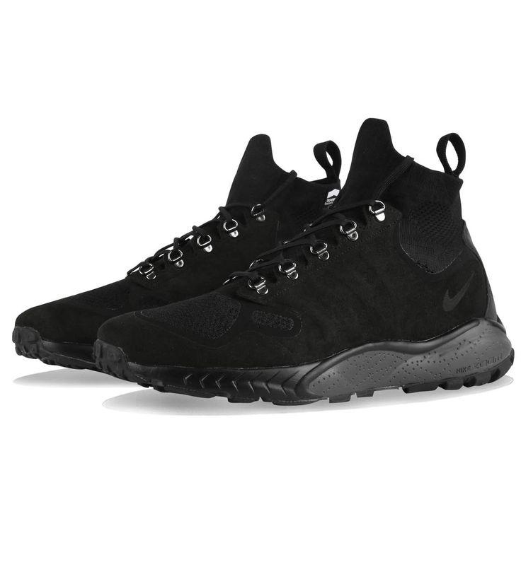 Nike Zoom Talaria Mid Flyknit Black / Black / Dark Grey - Sale | 5Pointz