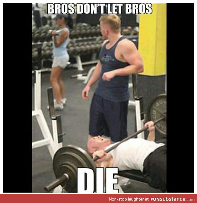 Gym partner problems.