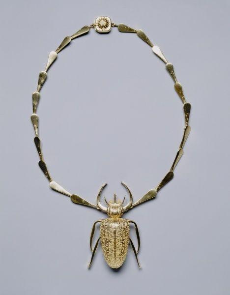 John Paul Miller, Necklace, 1951. Gold. Cleveland Museum of Art.