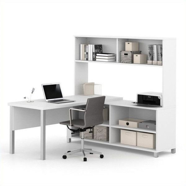 This Elegant L Shaped Desk Combines Modern Design Elements With Classic  Office Functionality And Premium Quality. The Executive Desk With Privacy  Panel And ...