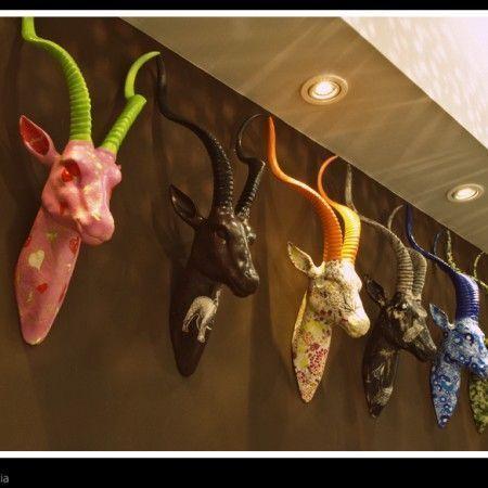 Cabezas de animal decorativas: BAREWA: gacela
