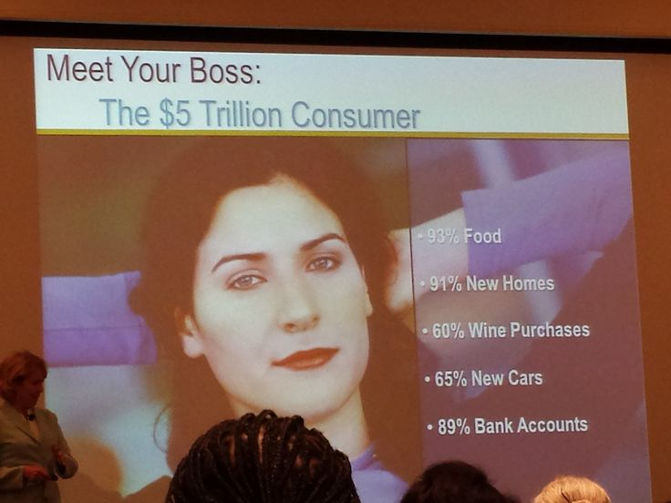 The 5 Trillion Dollar Consumer?  Women!  From #WITHIT_LDC2013