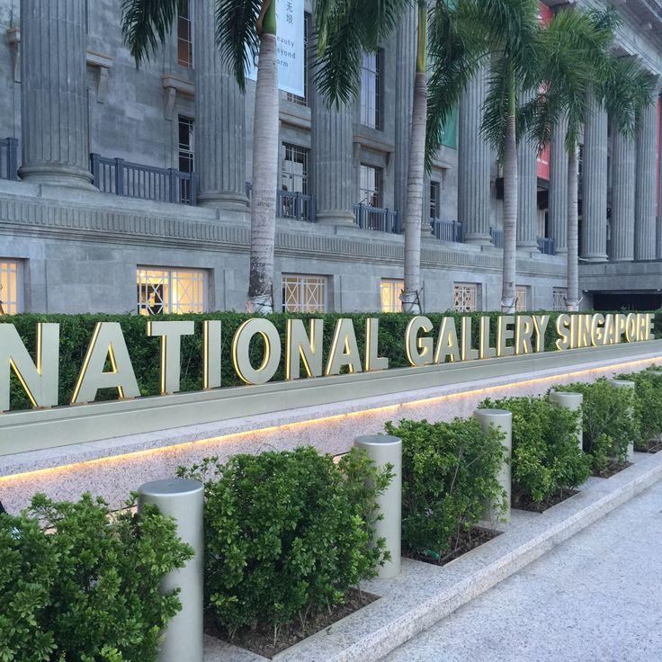Singapore の National Gallery Singapore
