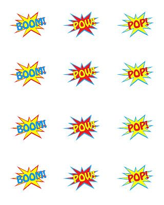 Superhero Party {FREE} Printables