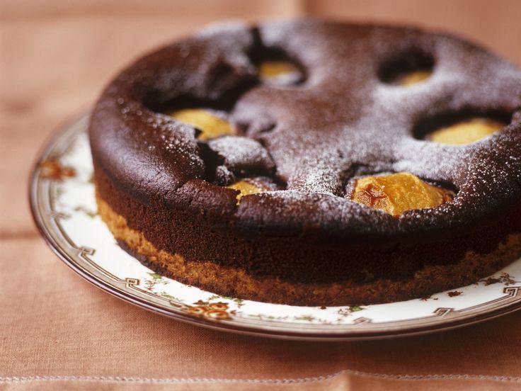 Schokoladenkuchen mit Birnen | Zeit: 1 Std. 30 Min. | eatsmarter.de