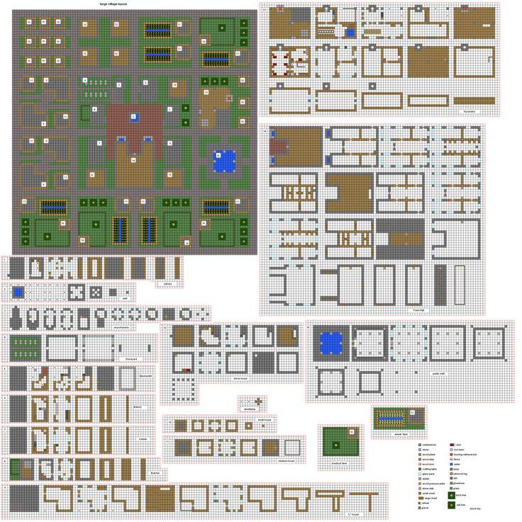 Minecraft Village Blueprints 07