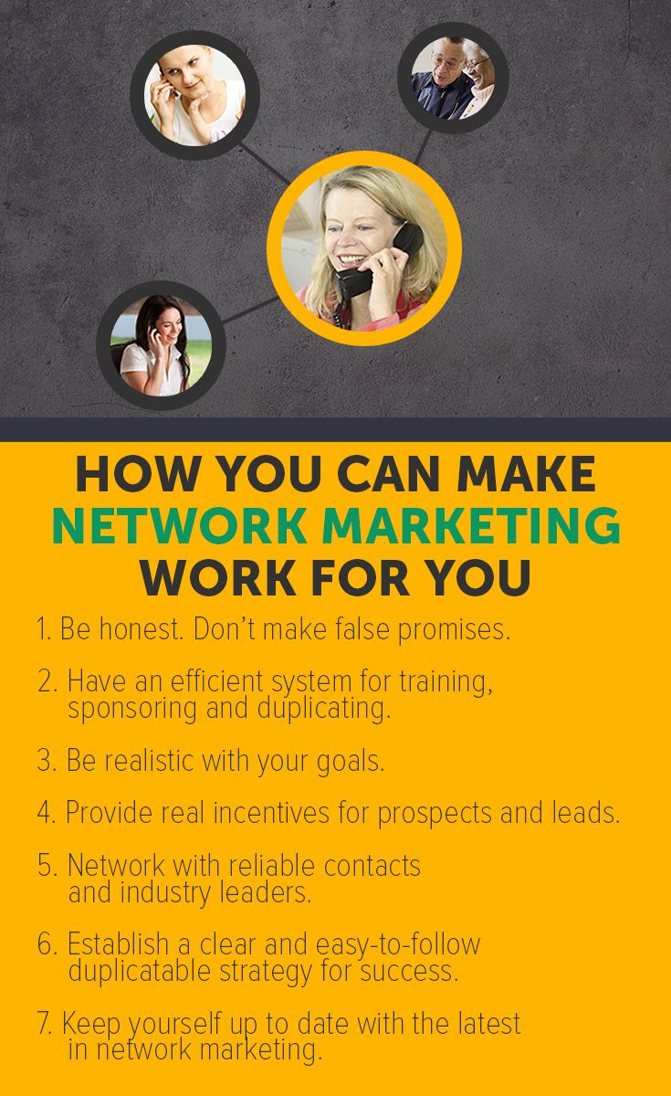 Discover how you can make Network Marketing work for you