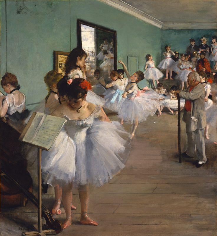 The Dance Class, 1874 / Edgar Degas (French, 1834-1917) / Oil on canvas (83.5 x 77.2 cm)
