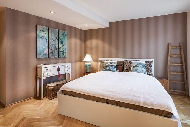 bedroom designed by Kristina Proksova