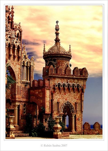 Castillo de Colomares, Benalmádena, Málaga, Andalucía, Spain