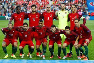 EQUIPOS DE FÚTBOL: SELECCIÓN DE PORTUGAL Campeona de la Eurocopa 2016