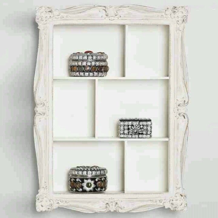 17 best images about frame it on pinterest shelves - Shelving for picture frames ...