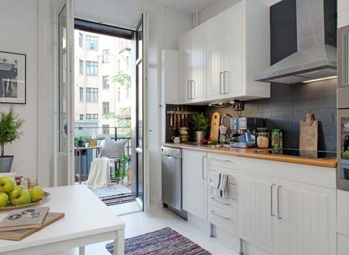 Aménager une petite cuisine - 40 idées pour le design ...