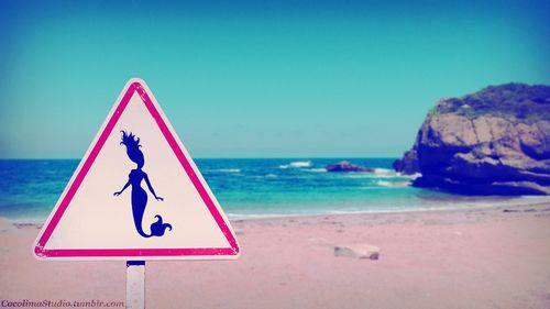 Mermaid's beach.