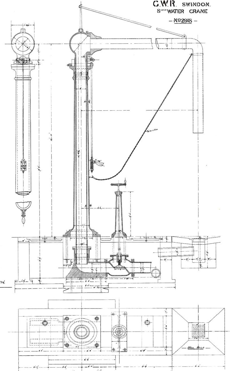 87 best Railroad blueprints and drawings images on