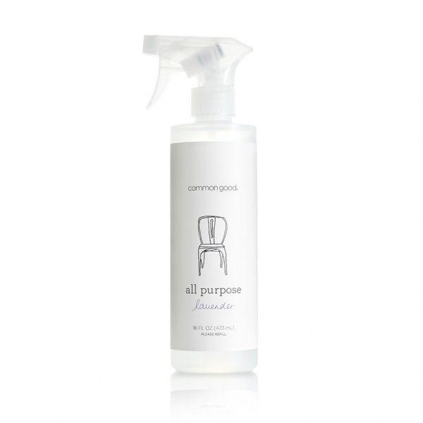 Common Good universalspray med Bergamot. 473 ml. Common Good universalspray består av få og gode ingredienser. Ingrediensene er miljøvennlige, plantebaserte og brytes lett ned i naturen. Den inneholder ingen skadelige stoffer, og irriterer hverken hud e