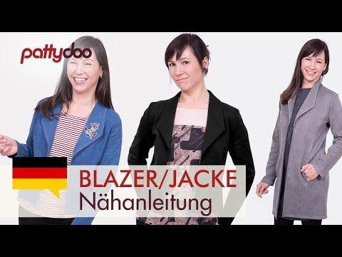 """Easy Damenshirt aus Jersey und Blusenstoff nähen - Ausschnitt """"auf die feine Art"""" - YouTube"""