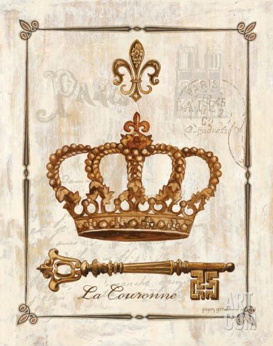 La Couronne Print by Gregory Gorham at eu.art.com