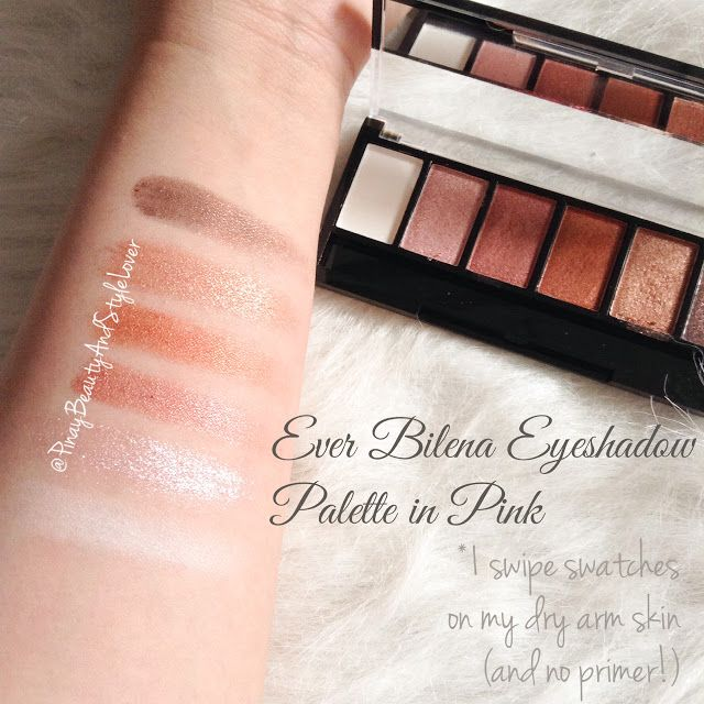 Ever Bilena Ultimatte Eyeshadow Palette review | The
