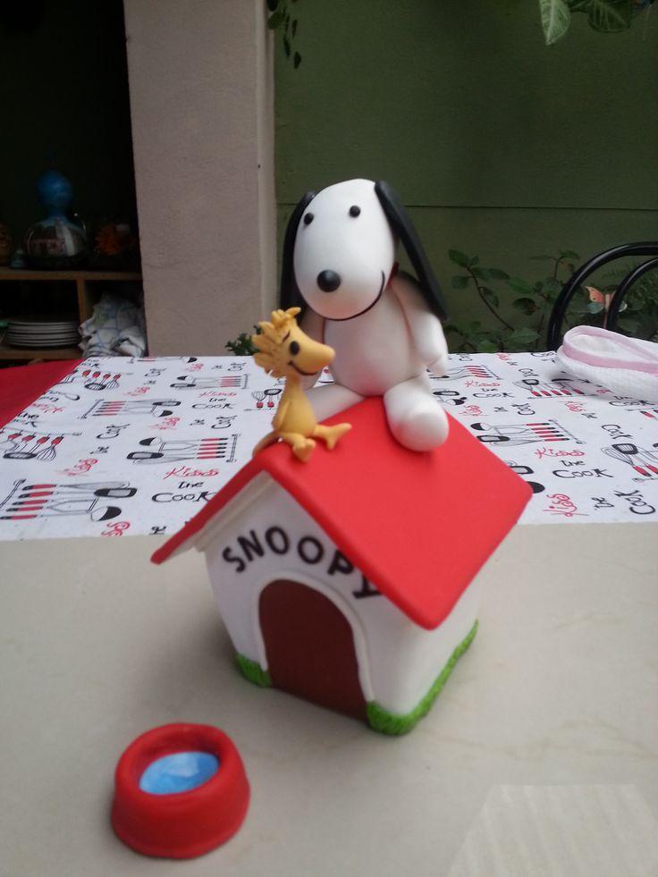 Snoopy - Porcelana fria