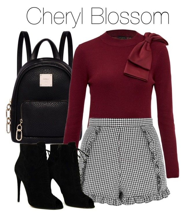 cheryl blossom inspired outfit  riverdale fashion