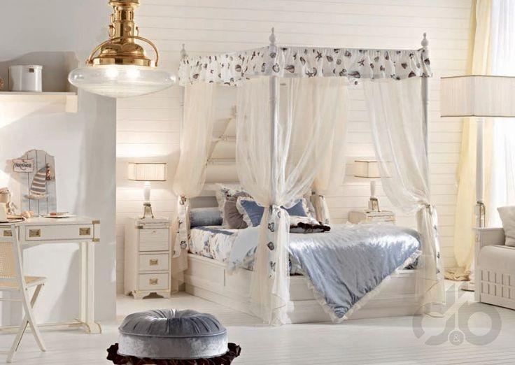 zarif genç kız odası dekorasyonu