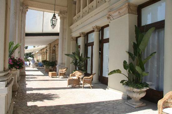 Front of Hotel des Bains