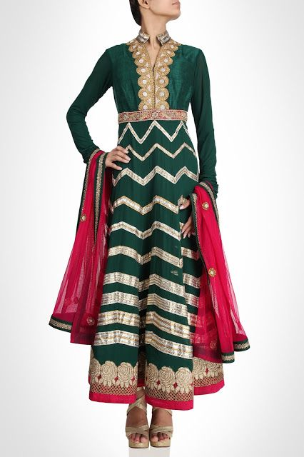 Fashion: Designer Wear Indian Dresses by Radhika Rahul