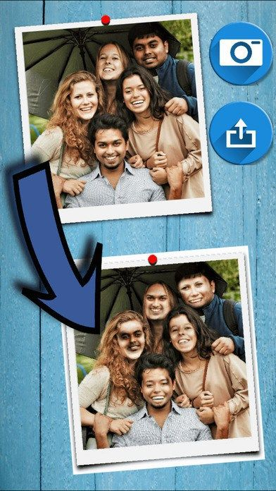 Group Face Swap. Swap faces instantly with up to 12 people with the tap of a button!