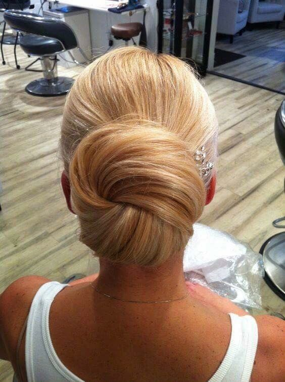 Huge low bun #avedaibw