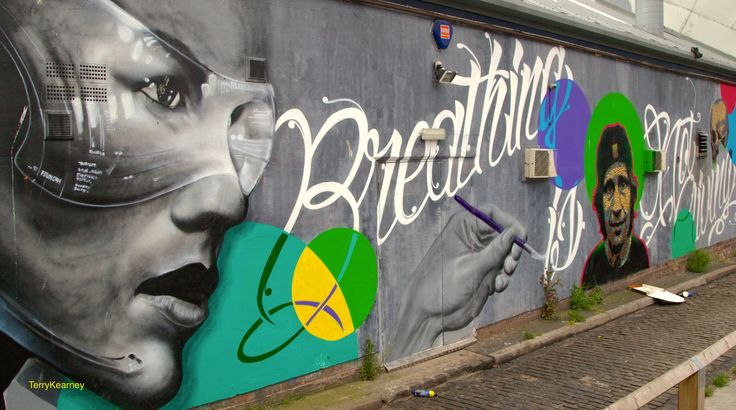 https://flic.kr/p/uqjGj2 | Breathing in Liverpool | Street Art in Liverpool City Centre June 2015   Street Art is a diverse, constantly evolving art form, one that moves across the derelict buildings, bus shelters and hoardings of cities across the world. Graffiti galleries on the internet take the street art scene from local to global, in your face but transient. The genre is as difficult to pin down as is to define - shifting rules apply. Street art has its roots in history, echoing cave…
