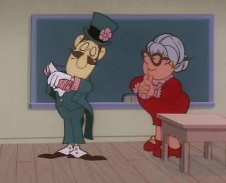 """Professor Hinkle: magician in classroom from """"Frosty the ..."""