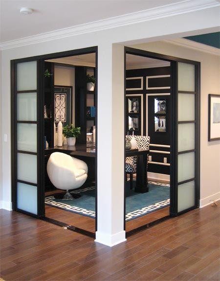 25 best ideas about sliding door room dividers on. Black Bedroom Furniture Sets. Home Design Ideas