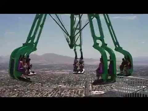 X-Scream Off Ride POV Stratosphere Tower Las Vegas Nevada Crazy Thrill Ride - YouTube