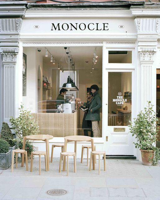 Monocle Cafe London by magCulture, via Flickr