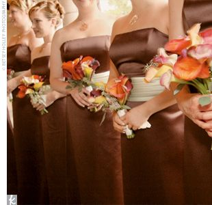Best Kookie Images On Pinterest Marriage Wedding And Orange - Burnt orange and green wedding colors