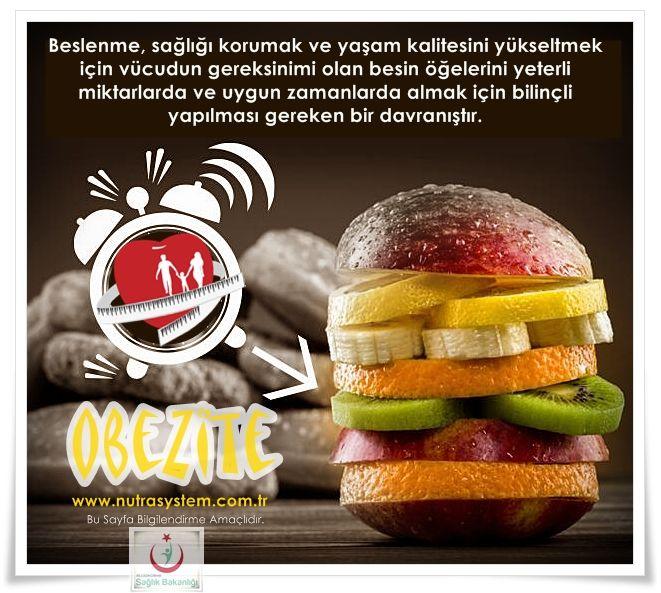http://www.nutrasystem.com.tr/… Obezite (şişmanlık) günümüzde gelişmiş ve gelişmekte olan ülkelerin en önemli sağlık sorunları arasında yer almaktadır. Obezite genel olarak bedenin yağ kütlesinin yağsız kütleye oranının aşırı artması sonucu boy uzunluğuna göre vücut ağırlığının arzu edilen düzeyin üstüne çıkmasıdır. Bilindiği üzere beslenme; anne karnında başlayarak yaşamın sonlandığı ana kadar devam eden yaşamın vazgeçilmez bir ihtiyacıdır.