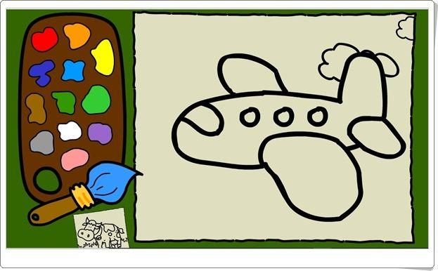 Colorea Dibujos En Movimiento Juego De Educacion Infantil Educacion De La Primera Infancia Primera Infancia Educacion Infantil