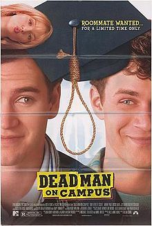 """Zack Morris"" gets saved by something other than the bell! Cooper (Mark-Paul Gosselaar) and Josh (Tom Everett Scott) are college roommates. Coop's grades are underwater (below C level). They hear that having a suicidal roommate will give a student straight As, so they audition losers to live with them."