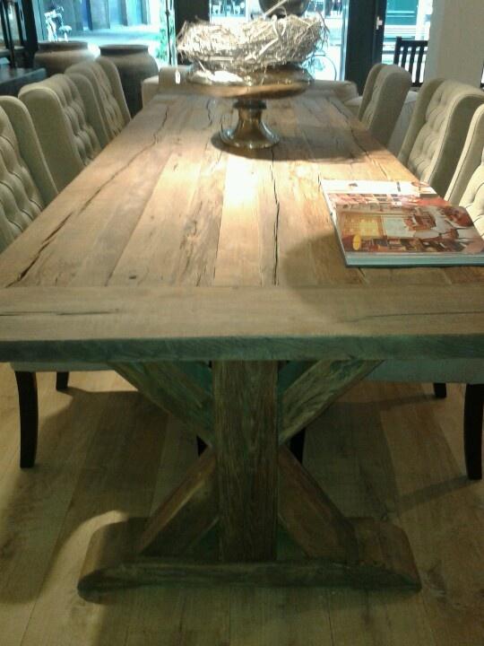 eetkamer tafel de pagter interieur middelburg