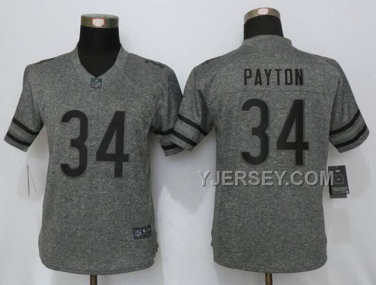 2013 new nike chicago bears 34 walter payton grey vapor elite jersey httpyjerseydiscount nike bears