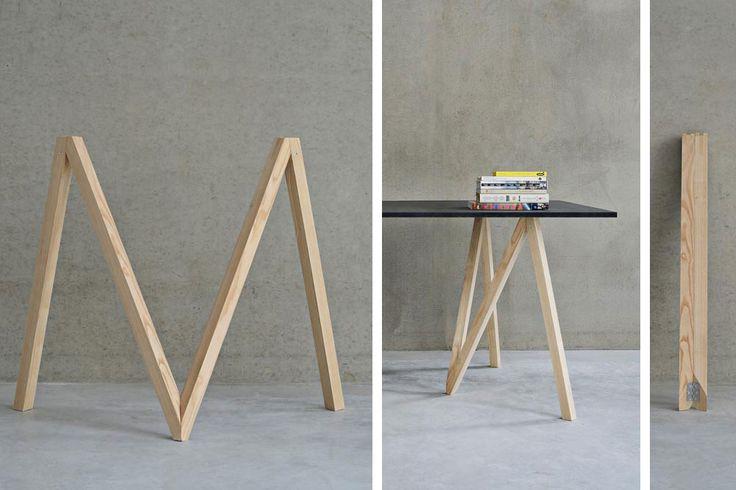 Tréteau Accordion - Julien de Smedt pour Makers With Agendas // © MWA